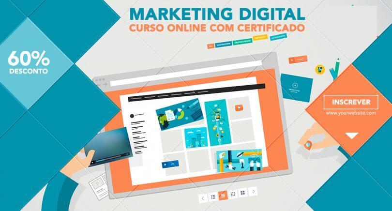 c27d03c968 Curso online Marketing Digital Express com 60% de desconto!