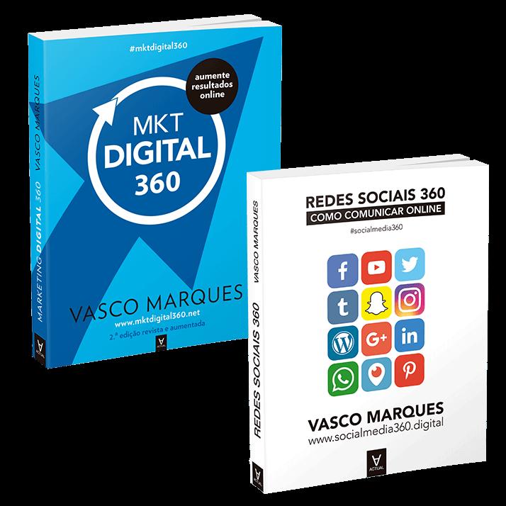 Livros Marketing Digital 360 + Redes Sociais 360